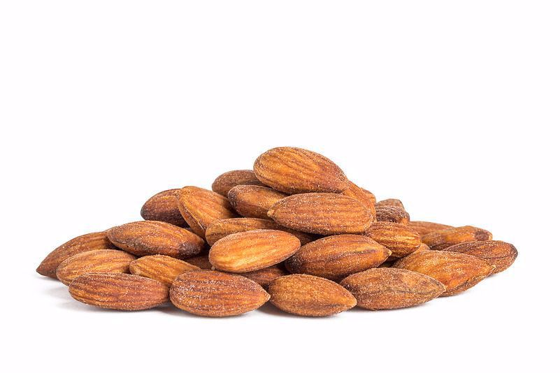 (ROASTED ALMONDS (SALTED